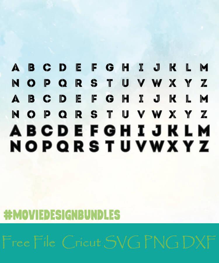Download Baseball Monogram Alphabet Letters Free Designs Svg Png Dxf For Cricut Movie Design Bundles