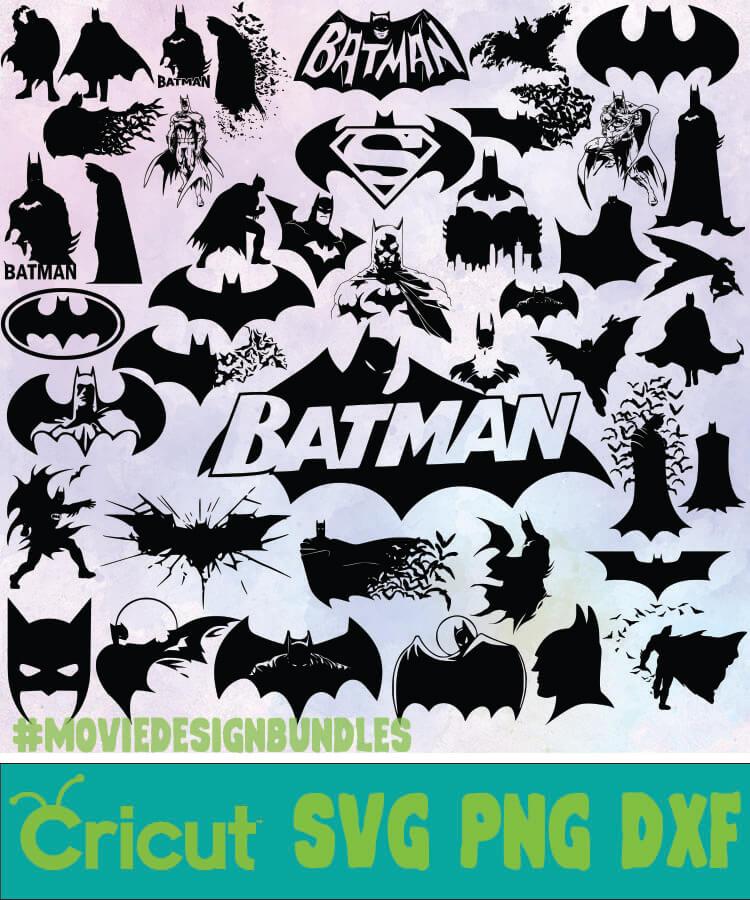 Batman D C Bundle Svg Png Dxf Movie Design Bundles