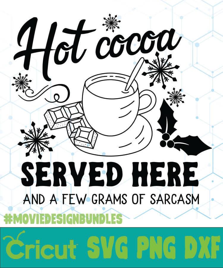 Hot Cocoa Free Designs Svg Esp Png Dxf For Cricut Movie Design Bundles