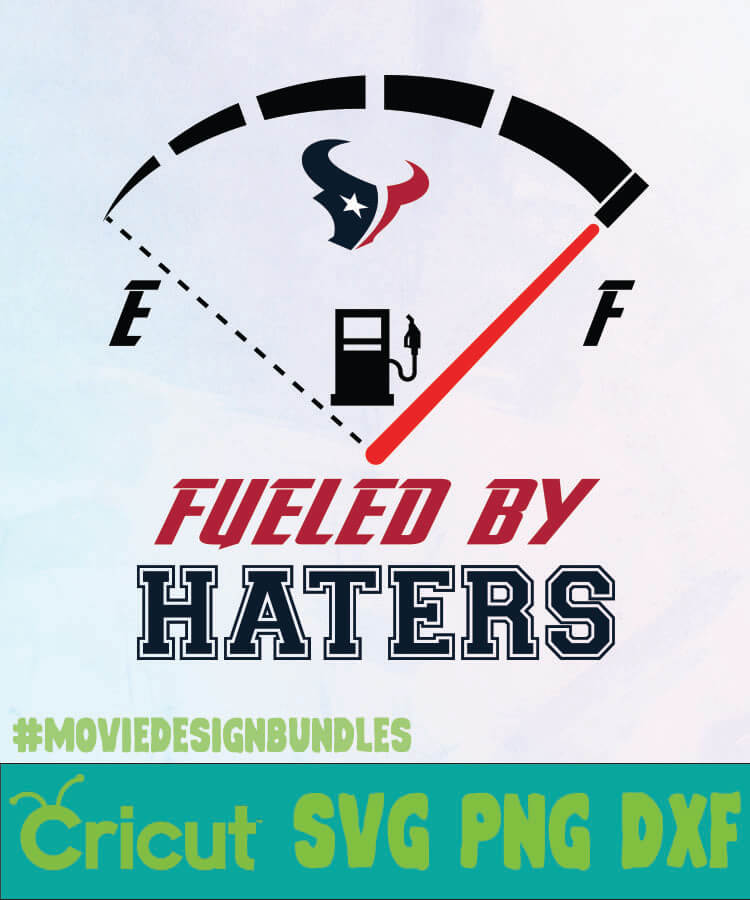 Houston Texans Fueled By Haters 1 Logo Svg Png Dxf Movie Design Bundles