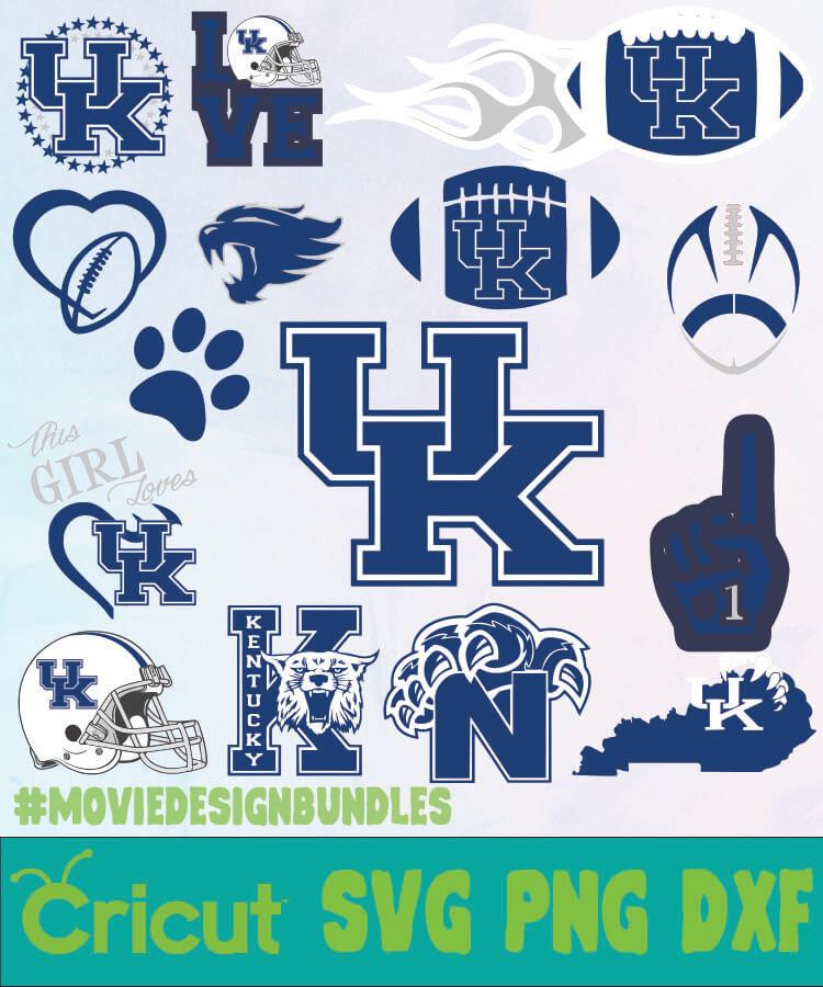 Kentucky Wildcats Ncaa Svg Png Dxf Movie Design Bundles