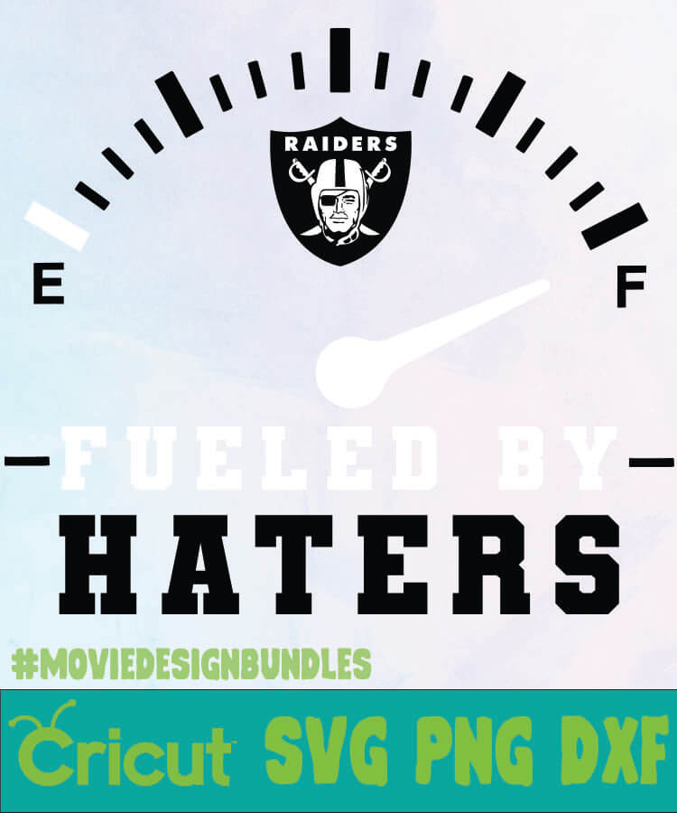 Oakland Raiders Fueled By Haters Logo Svg Png Dxf Movie Design Bundles