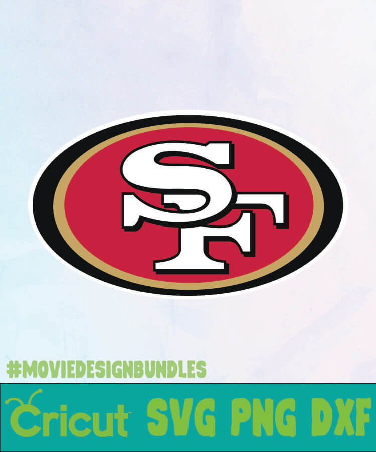 San Francisco 49ers Svg Png Dxf San Francisco 49ers Logo Movie Design Bundles