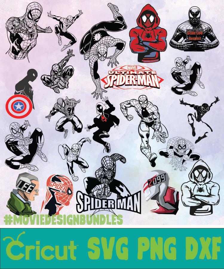 png Spider Man bundle svg png Spider Man svg files for cricut dxf Spider Man svg clipar Spider Man svg dxf