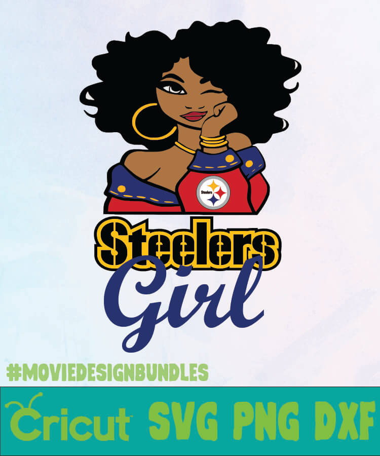 Steelers Girl Logo Nfl Svg Png Dxf Movie Design Bundles