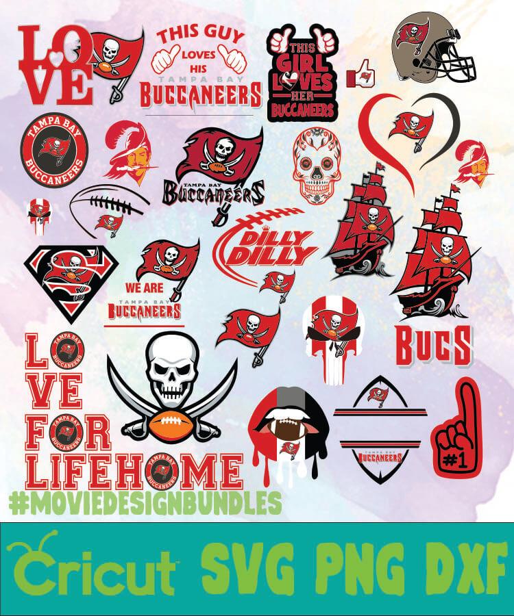 tampa bay buccaneers logo bundles svg png dxf movie design bundles tampa bay buccaneers logo bundles svg png dxf