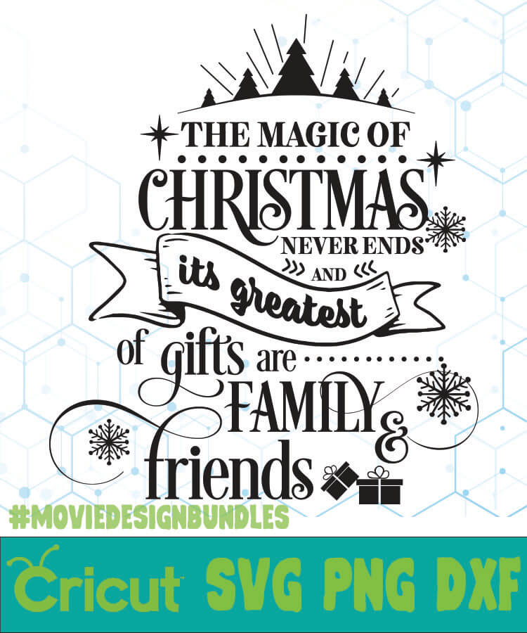 Download THE MAGIC OF CHRISTMAS FREE DESIGNS SVG, ESP, PNG, DXF FOR ...