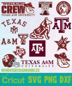 Texas-A&M-Aggies-NCAA-SVG-PNG-DXF