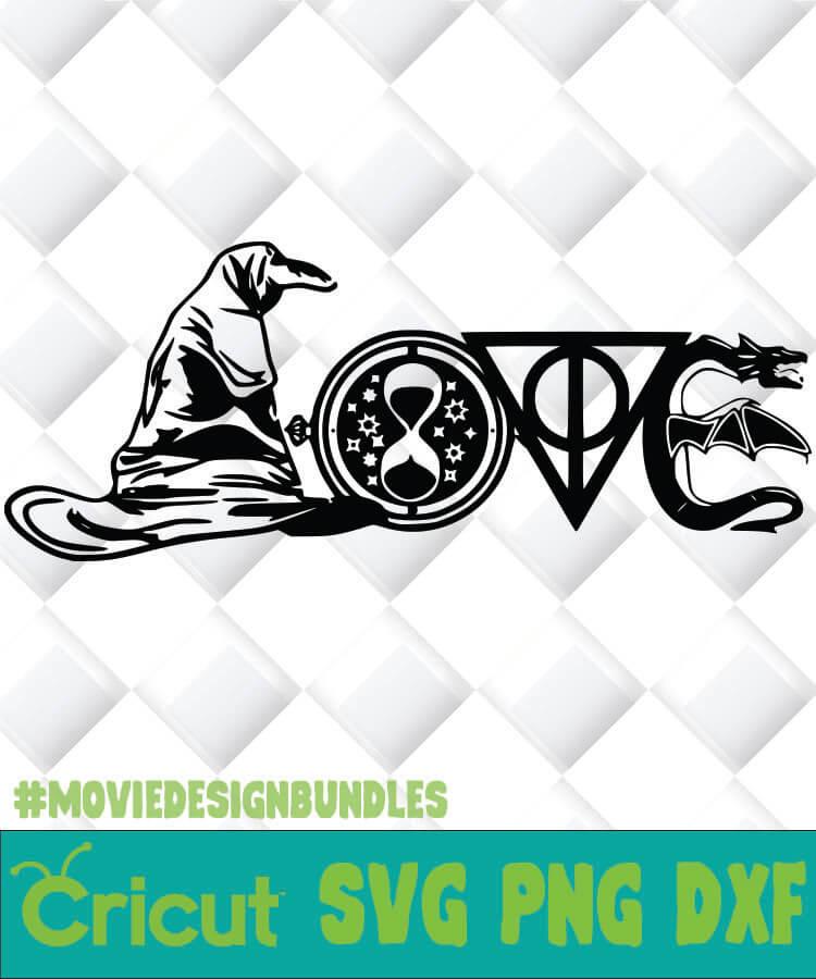 Download HARRY POTTER GEEKNERDLOVE SVG, PNG, DXF, CLIPART - Movie ...