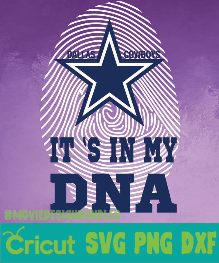 Dallas Cowboys Nfl Dna Svg Png Dxf Movie Design Bundles
