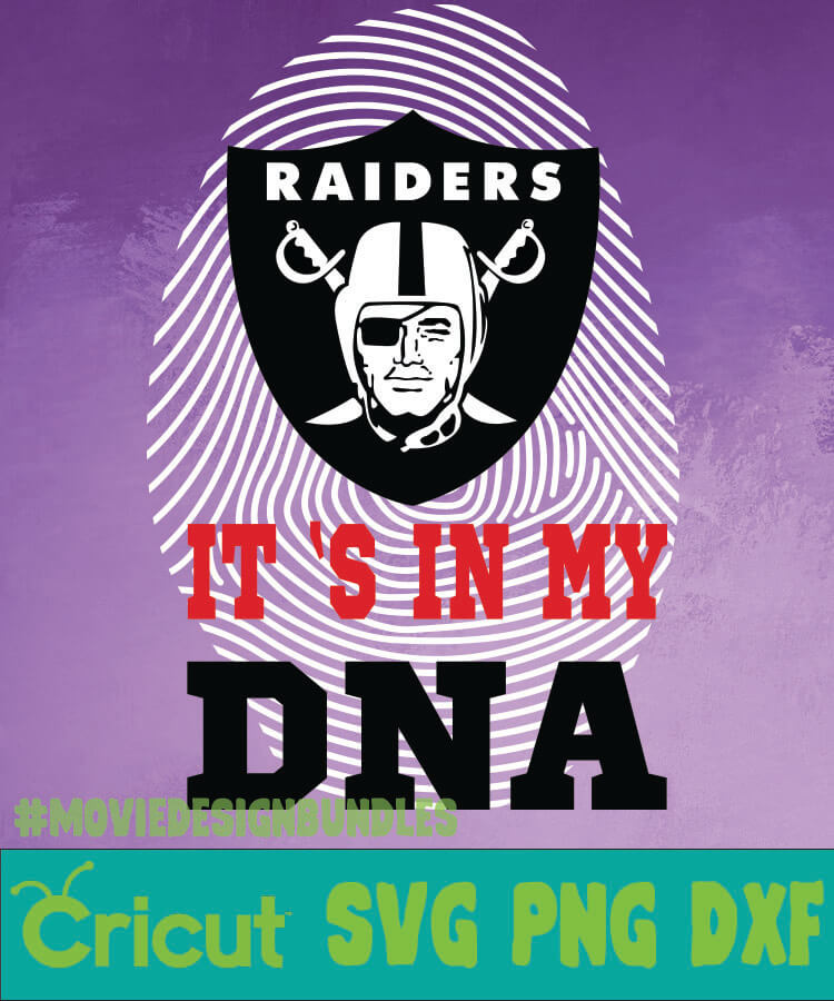 Oakland Raiders Nfl Dna Svg Png Dxf Movie Design Bundles