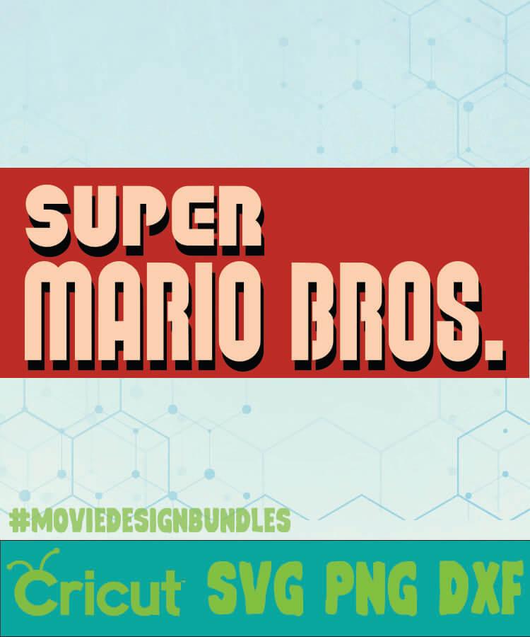super mario bros characters svg