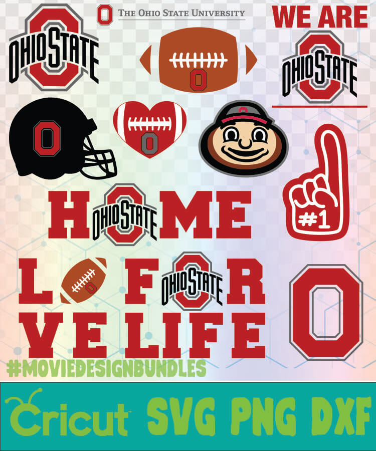 Ohio State Football Ncaa Logo Svg Png Dxf Movie Design Bundles