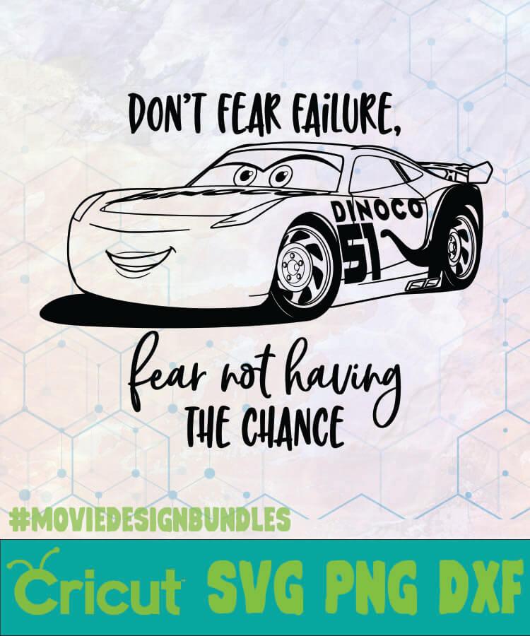 Cars Cruz Dont Fear Disney Logo Svg Png Dxf Movie Design Bundles