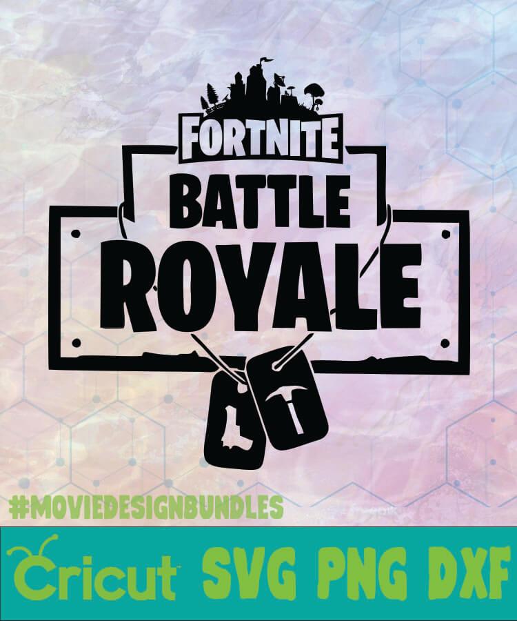 Fortnite Battle Royale Fornite Logotipo Fornite Battle Royale Logo Svg Png Dxf Movie Design Bundles
