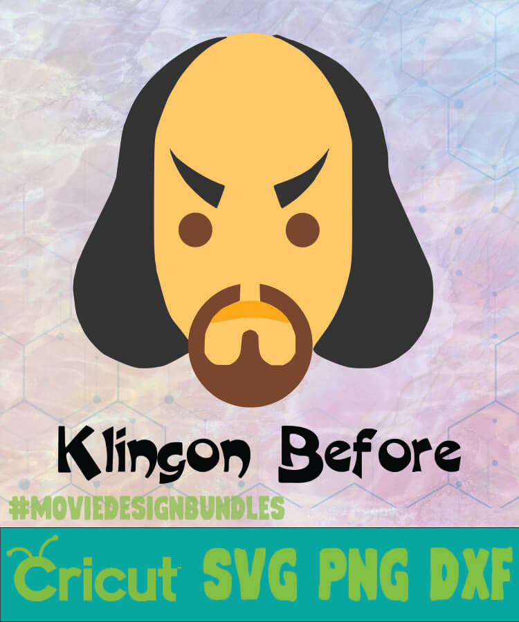 Klingon Before Star Trek Logo Svg Png Dxf Movie Design Bundles