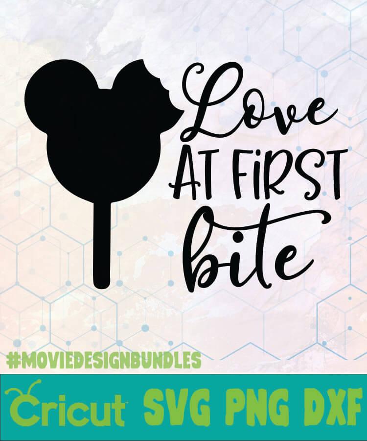 Download LOVE AT FIRST BITE DISNEY LOGO SVG, PNG, DXF - Movie ...