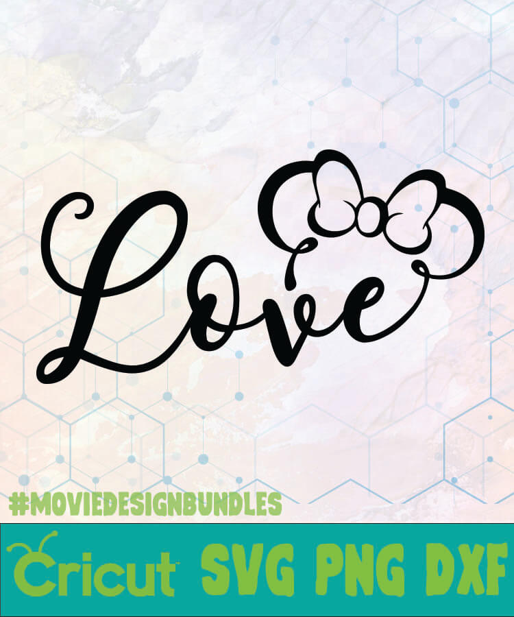 Download Minnie Love Filetype Svg - Mickey And Minnie Silhouette ...