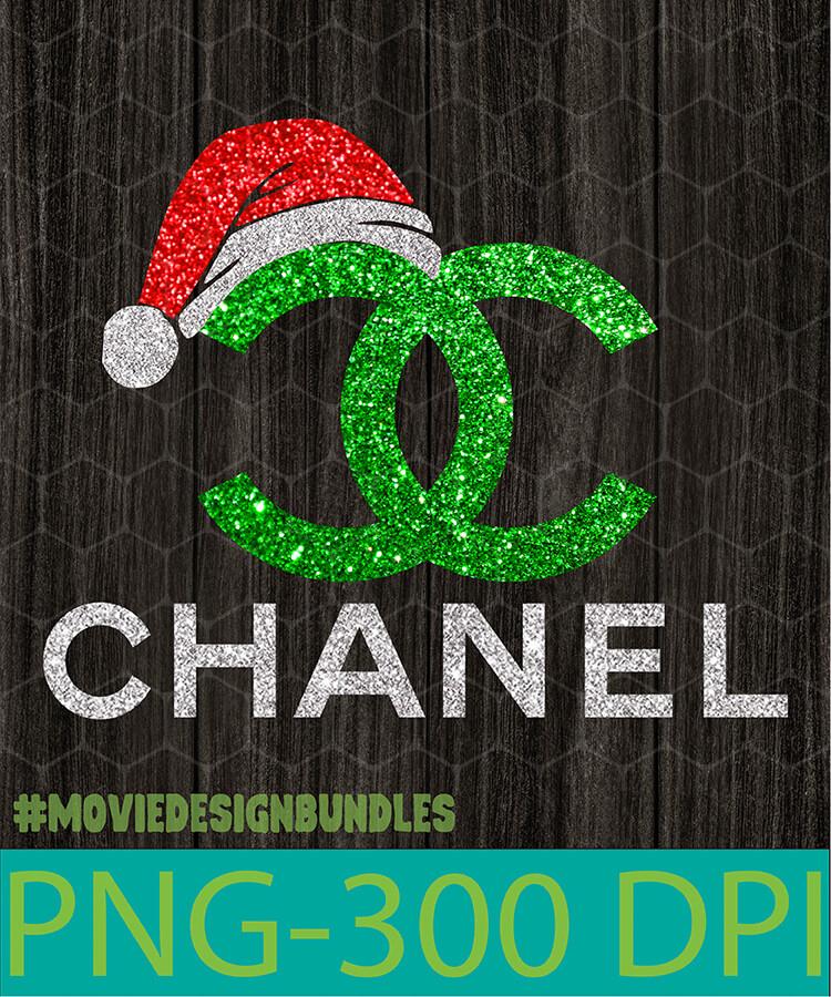 Christmas Chanel Green Png Clipart Illustration Movie Design Bundles