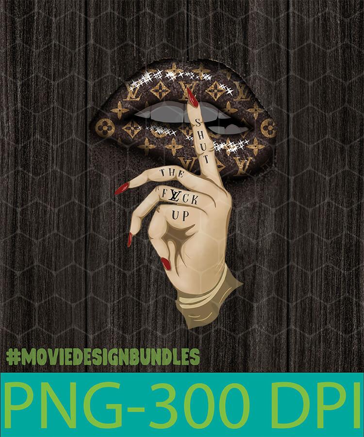 Louis Vuitton Lips Png Clipart Illustration Movie Design Bundles